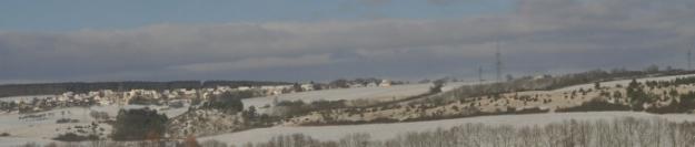 Unterwegs Sonne und Schnee
