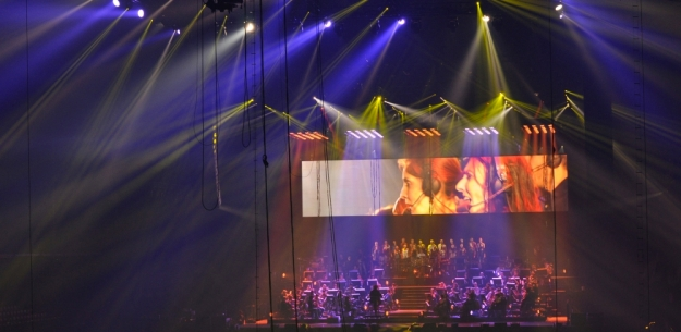 Bühnenansicht Chor 2