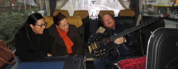 BVs und Mark Gitarre
