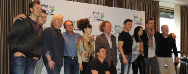 Pressekonferenz Gruppenfoto