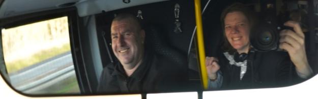 Bus Oliver und ich