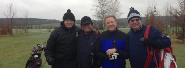 Golfen Drei Gleichen