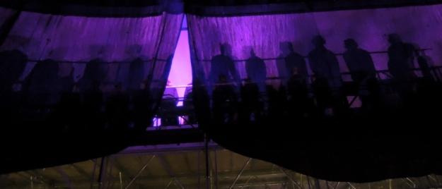 Schatten Chor von hinten