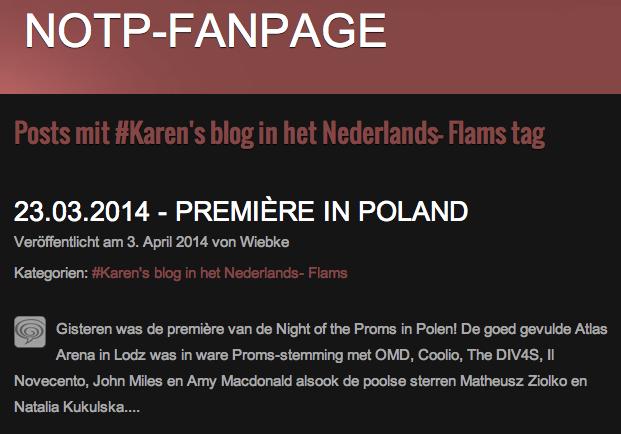Karens Blog auf NL