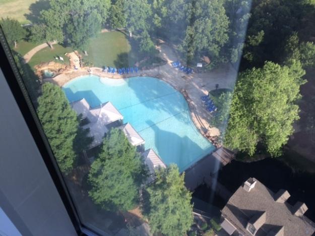 Hotel Pool Jet Lag