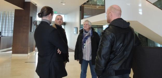 Dirk, Bruno, Jürgen, Tom
