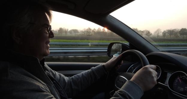 Dirk im Audi