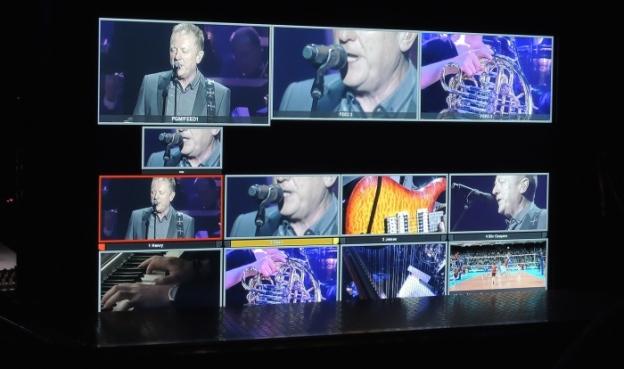 Music Regie Bildschirm