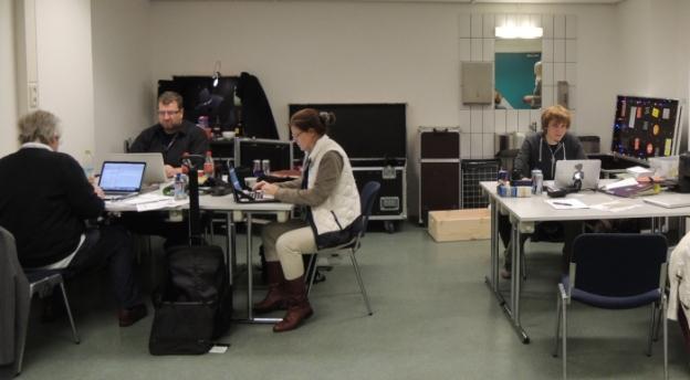 Backstage office